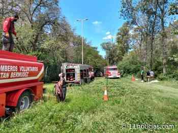 Incendio en los polvorines de Fábrica Militar Fray Luis Beltrán - 11NOTICIAS