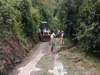 Lluvias afectan vías terciarias en Ragonvalia - Canal TRO