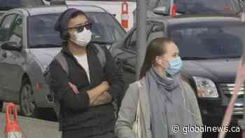 As COVID-19 cases climb, petition launched to make masks mandatory in BC.