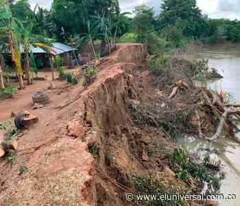Construirán muro de contención para frenar erosión en San Pelayo - El Universal - Colombia