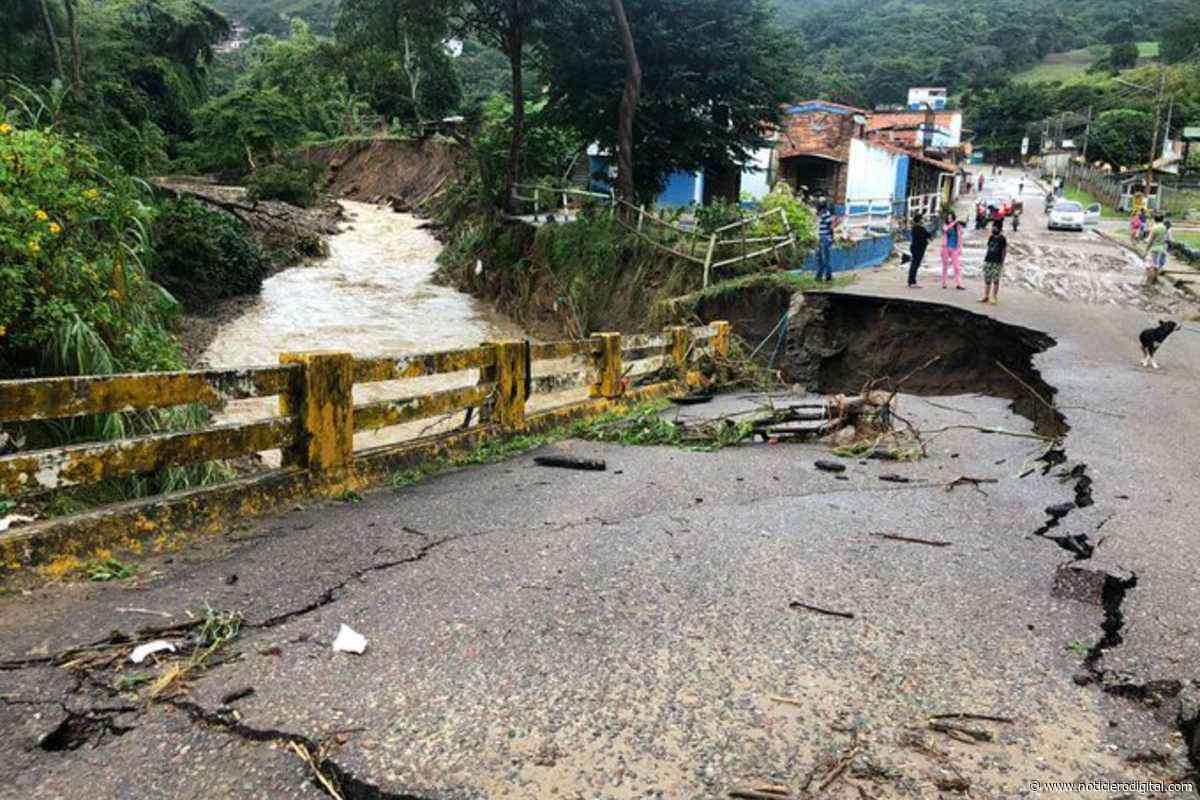Reportan desbordamiento de varias quebradas de San Antonio del Táchira tras fuertes lluvias de este martes - Noticiero Digital