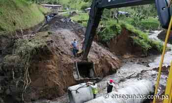 Trabajos de reapertura de la carretera Copal hacia Río Sereno con 75% de avance - En Segundos
