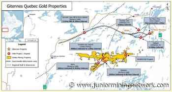 Gitennes Exploration Inc. Advances Exploration on Its JMW Gold Property, Chibougamau Area, Quebec - Junior Mining Network