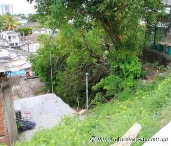 Urge un muro de contención en el barrio Santa Rita - El Universal - Colombia