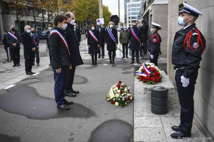 France marks 5 years since deadly attacks on Bataclan, cafes