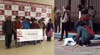 Tacna: agricultores de Candarave queman cheques de Southern | video | minera | lrsd - LaRepública.pe