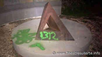 Vandalismo nel Parco di Beverly Pepper a Todi: imbrattate alcune opere - Finestre sull'Arte