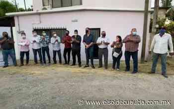 En Jojutla: Inician obras de pavimentación en la calle 12 de octubre - El Sol de Cuautla