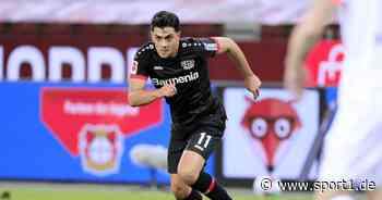 Nadiem Amiri von Bayer Leverkusen spricht über Angebot von RB Leipzig - SPORT1