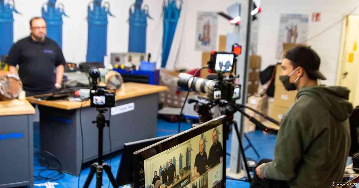 Meerbusch: Die Firma Nerdfilms stellt sich mit Webinaren auf Corona ein - Westdeutsche Zeitung