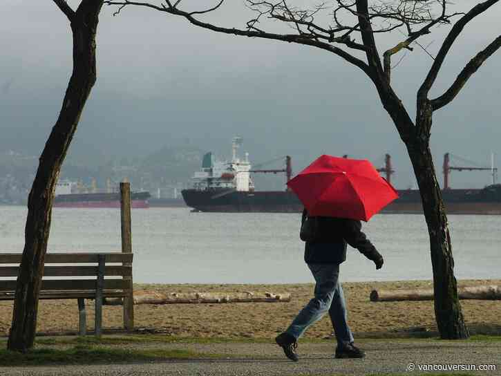 Vancouver Weather: Rain, then mainly cloudy