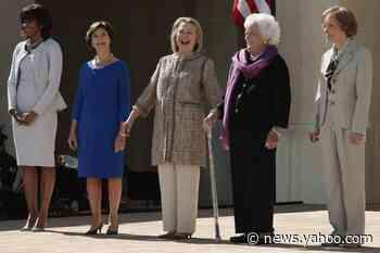 Hillary Clinton shares photos of FLOTUS transition as Melania has yet to reach out to Jill Biden