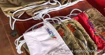 Icononzo: excombatientes fabricaron tulas con material reciclable - http://www.radionacional.co/