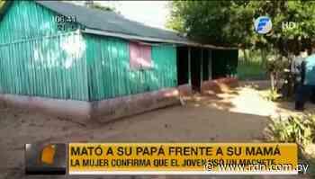 Joven mata a su padre en Carayaó - Resumen de Noticias