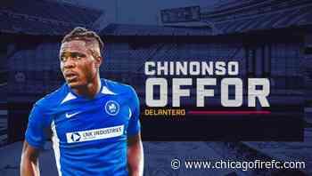 Chicago Fire FC Adquiere al Delantero Nigeriano de 20 Años Chinonso Offor