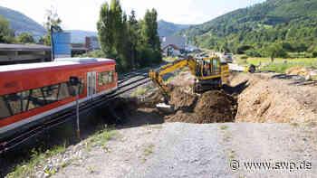 Ermstalbahn Metzingen und Bad Urach: Bauarbeiten im Ermstal: Ersatzverkehr mit Bussen - SWP