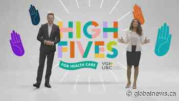 Health Matters: High Fives for Health Care