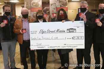 Tim Hortons serves up $25K worth of soup to Elgin Street Mission