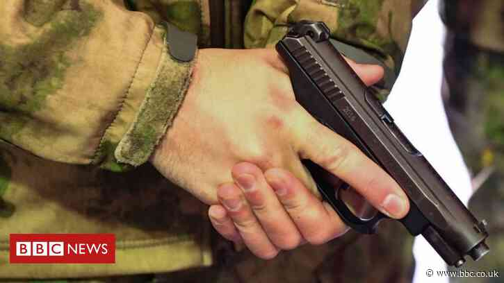 Three Russian soldiers killed in shooting on base near Voronezh - BBC News