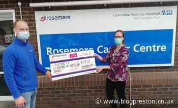 Radiotherapy team completes Guild Wheel run for Rosemere - Blog Preston