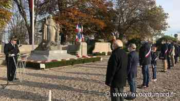 Saint-Omer : une cérémonie du 11-Novembre pas comme les autres mais l'essentiel est là, « honorer » - La Voix du Nord