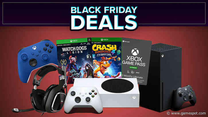 Best Black Friday 2020 Xbox Series X And Xbox One Deals