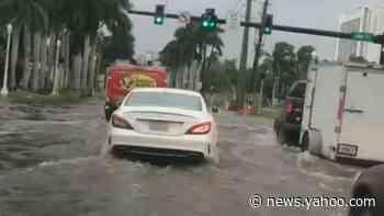 Tropical Storm Eta hits North Carolina with deadly flooding