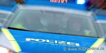 Polizei-Einsatz in Kloster Lehnin: Frau fährt im Drogenrausch durch Emstal - Märkische Allgemeine Zeitung