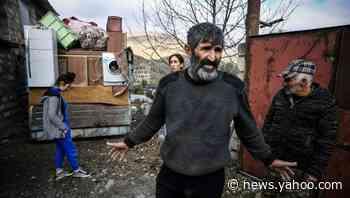 Armenians flee homes as Azerbaijan takeover looms