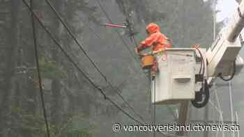 Thousands without power in Vancouver Island windstorm - CTV News VI