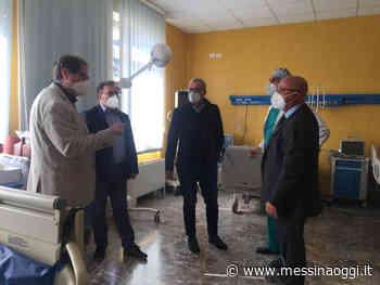 Posti aggiuntivi Covid, sopralluogo di La Paglia e Alagna a Taormina - Messina Oggi