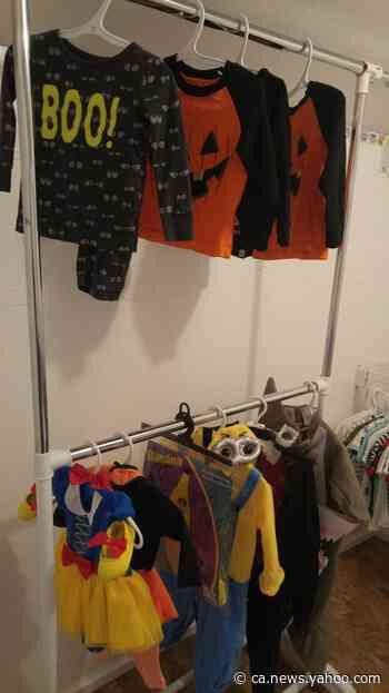 Norman Wells mom turns free kids clothing 'mini store' idea into reality - Yahoo News Canada