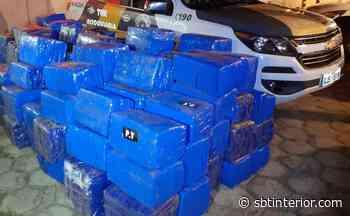 Polícia Rodoviária apreende quase 3 toneladas de maconha em Pirapozinho - SBT Interior