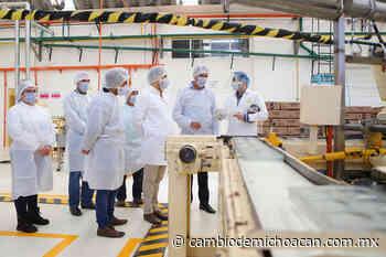 Empresa chocolatera de Uruapan recibe Licencia Ambiental Única - Cambio de Michoacán