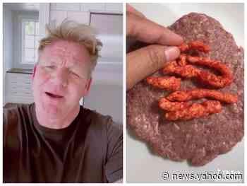Gordon Ramsay roasted a TikTok chef who stuffed Flamin' Hot Cheetos into her burger