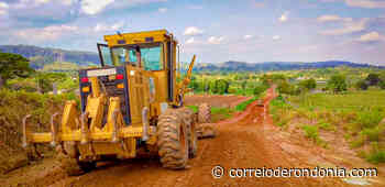 DER prepara rodovia 010, em Ouro Preto do Oeste, para o período chuvoso - Correio de Rondônia