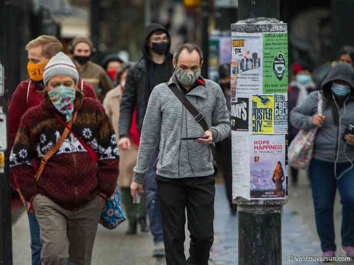 Letters to The Vancouver Sun, Nov. 14, 2020: Masks should be mandated