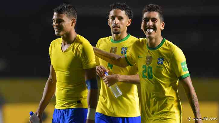 Brazil stay perfect, Uruguay and Chile victorious