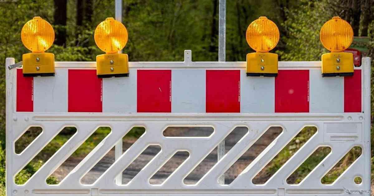 Vlotho-Exter und Herford-Ost: Baustelle bei Ein- und Ausfahrt - Neue Westfälische