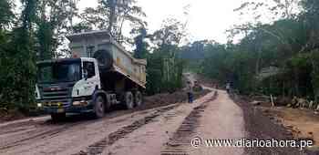 Pide cumplir con trabajadores de vía Chazuta – Curiyacu - DIARIO AHORA
