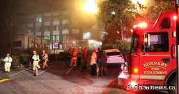 Crews snuff out fire at Burnaby General Hospital