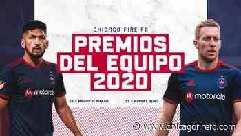 Robert Berić Y Mauricio Pineda son Ganadores de los Premios de Fin de Año 2020 del Chicago Fire FC