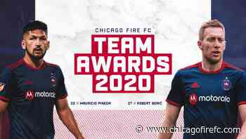 Robert Berić and Mauricio Pineda Announced as  2020 Chicago Fire FC Award Winners