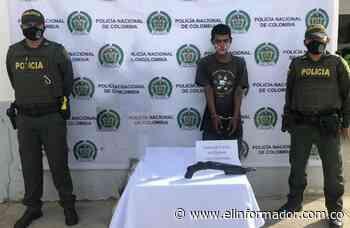 Capturan a un hombre con una escopeta sin papeles en Sitionuevo - El Informador - Santa Marta