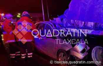 Muere hombre en aparatoso accidente en la Apizaco-Tlaxco - Quadratín Tlaxcala