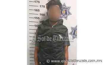 Detienen a ladrón en flagrancia, en Apizaco - El Sol de Tlaxcala