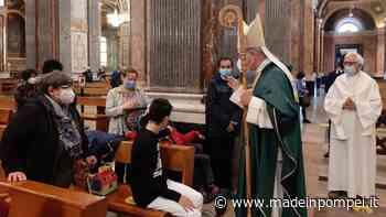 Pompei, il monito dell'arcivescovo Caputo: «Non diventiamo indifferenti ai poveri» - Made in Pompei