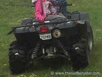 Nicked ATV found in bush near Alban