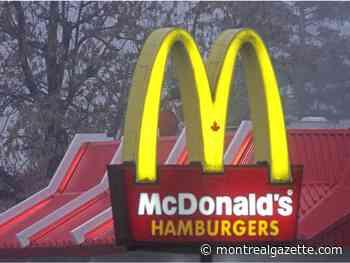 COVID-19 diagnosis shuts down McDonald's in Pointe-aux-Trembles - Montreal Gazette