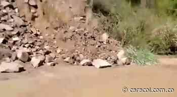 VIDEO: Problemas en la vía San Gil - Charalá - Caracol Radio